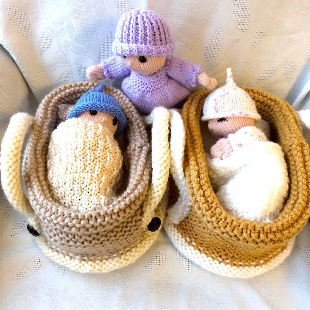 Doll knitting patterns loveknitting baby doll in crib bankloansurffo Image collections