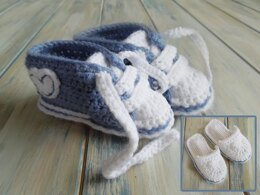 Sporty Boots and Slipper Set