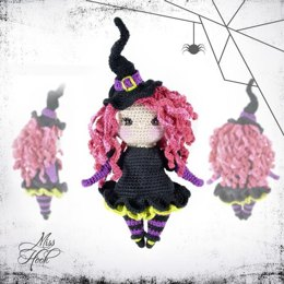 Little Miss Magic, amigurumi doll crochet pattern