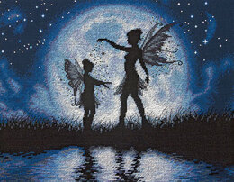Dimensions Twilight Silhouette Cross Stitch Kit - 35.5cm x 28cm