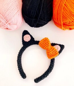 Halloween Cat Ear Headband