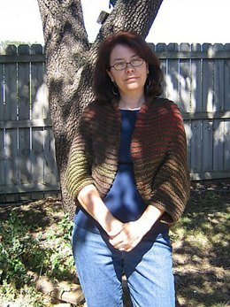 Two-Colored Shrug