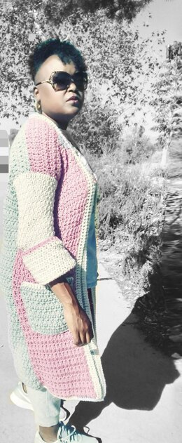 The Color Me Bad Cardigan