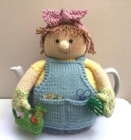 Betty the gardener tea cosy