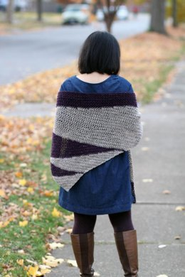 Tilt Shift Shawl