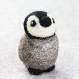 Hawthorn Handmade Baby Penguin Mini Needle Felting Kit