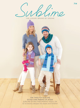 The Twelfth Sublime Extra Fine Merino DK Book by Sublime