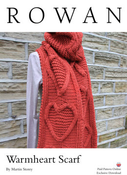 Warmheart Scarf in Rowan Big Wool