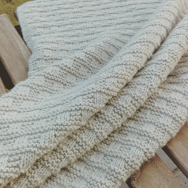 Knitting Essentials For Baby : Essential baby blanket knitting project by chloe smith