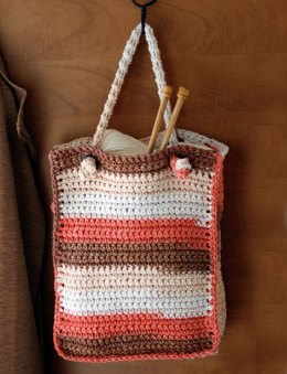 Stripes Bag in Lily Sugar 'n Cream Stripes