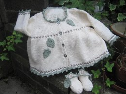Fearne - Baby Jacket and Booties