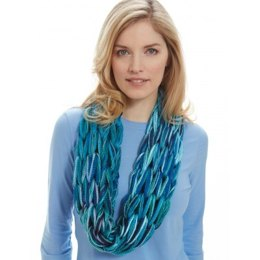I-Cord Arm Knit Cowl in Patons Decor
