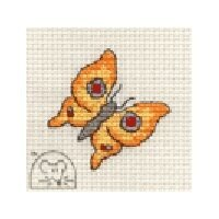 Mouseloft Stitchlets - Bright Butterfly Cross Stitch Kit