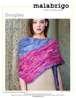 Douglass Shawl in Malabrigo Rastita - Downloadable PDF