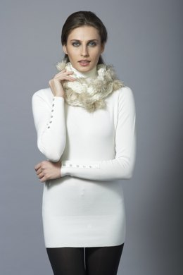 Scarf and Cowl in Katia Evita Merino - Downloadable PDF