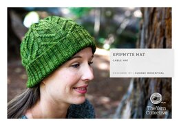 """Epiphyte Hat by Sloane Rosenthal"" - Hat Knitting Pattern For Women in The Yarn Collective"