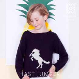 Hast Jumper in MillaMia Naturally Soft Cotton - Downloadable PDF