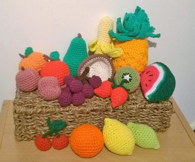 Cornucopia of fruit