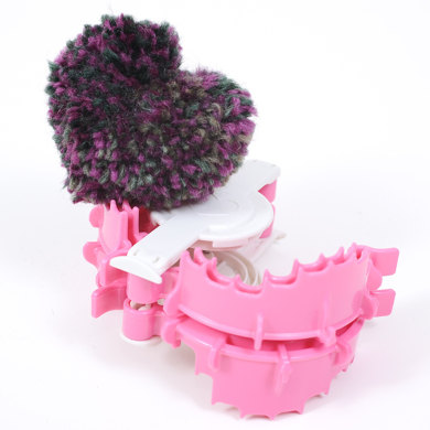 Pom-Pom Maker (Heart Shape/ Large)