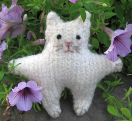 Felted Amigurumi Cat