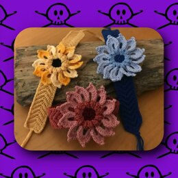 Crochet Flower and Friendship Bracelet