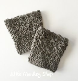Queen's Lace Boot Cuffs