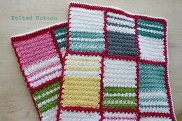 Patch Me a Line Blanket