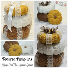 Textured Pumpkins
