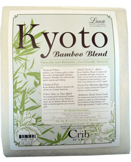 Luna Batting Kyoto Bamboo Blend Batt - Crib