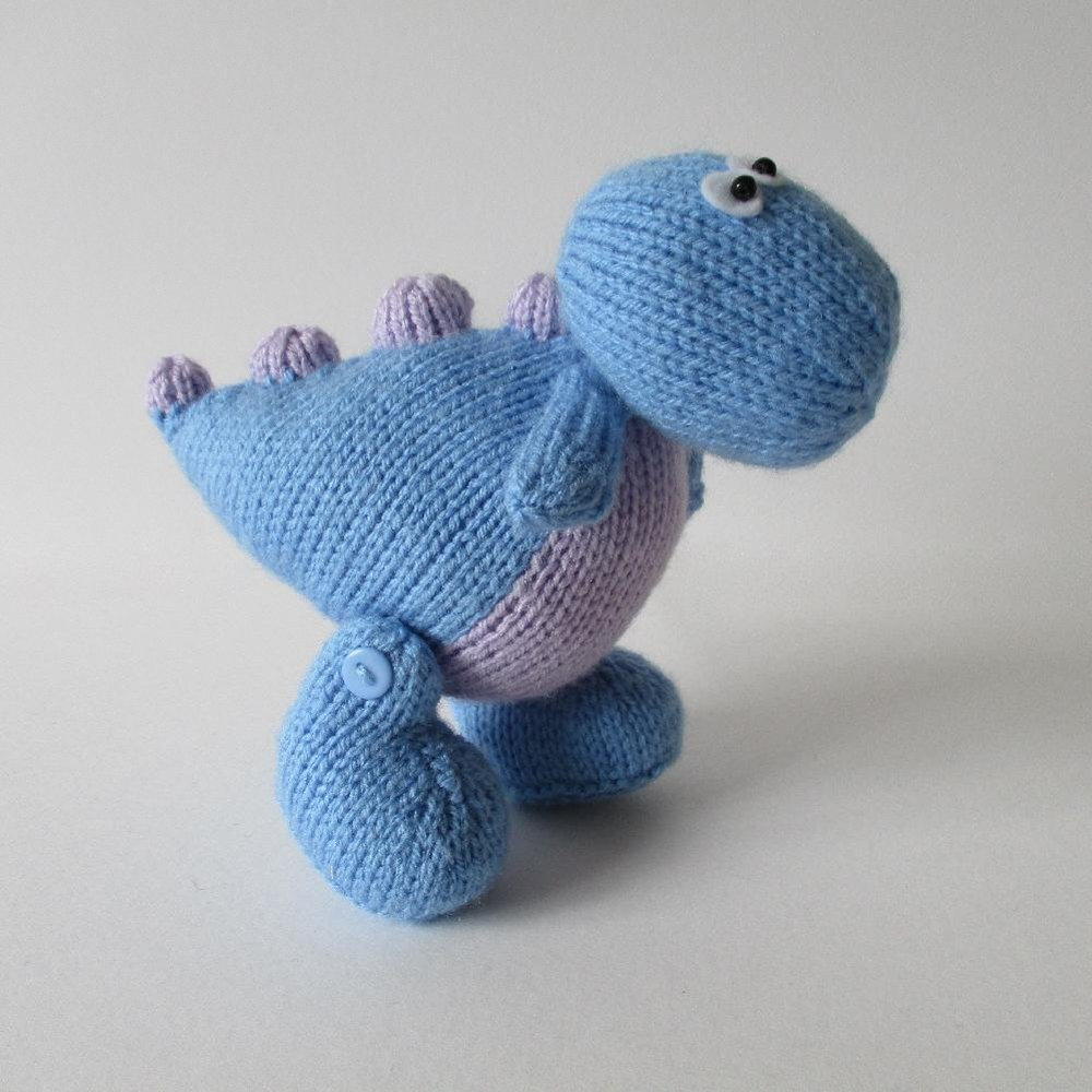 Dippy the Dinosaur Knitting pattern by Amanda Berry ...