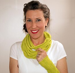 SubLIME Necklace Scarf and Wrist Wamers
