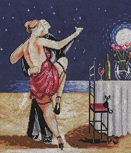 Design Works Night Time Tango Cross Stitch Kit - 25.5cm x 30.5cm