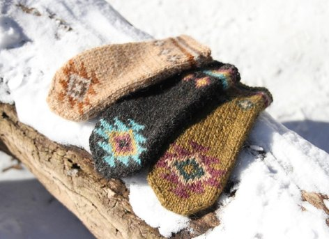 Jagged Ridge Mittens