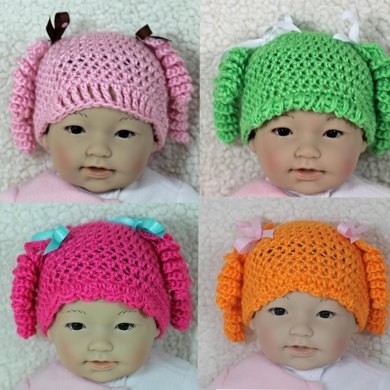 Baby Hat Pattern LaLa Loopsy Inspired LaLa Oopsy Baby Hat