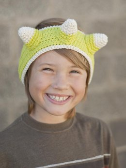 Critter Society Ear Warmers - Dragon/Dinosaur