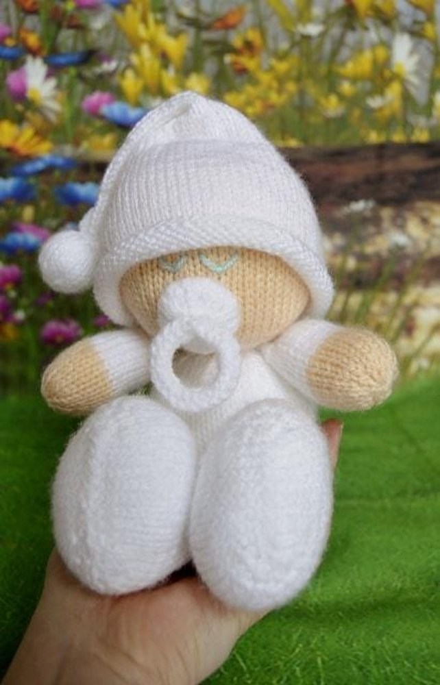 Easy Knit Baby Knitting pattern by Knitting by Post