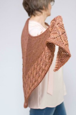 Diamond Edged Shawl