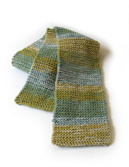 Cold Harbor Scarf in Lion Brand Wool-Ease - 90250AD