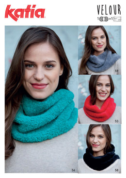 Neck Warmers in Katia Velour