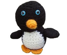 Amigurumi Herbert the Felted Penguin