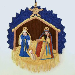 Christmas Nativity Wall Hanging