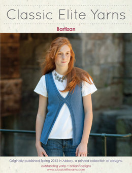 Bartizan Vest in Classic Elite Yarns Allegoro - Downloadable PDF