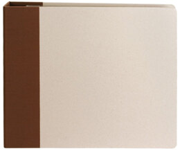 "American Crafts Modern D-Ring Album 12""X12"" - Chestnut"