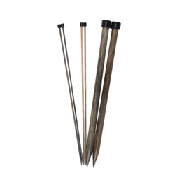 Lykke Straight Single Point Needles 25cm (10in)
