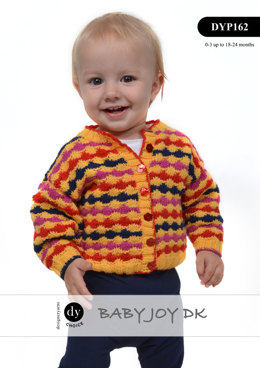 Cardigan & Bootees in DY Choice Baby Joy DK - DYP162