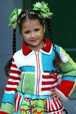 Holiday Girl Hand Knitted Jacket