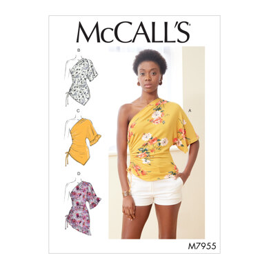 McCall's Misses' Tops M7955 - Sewing Pattern