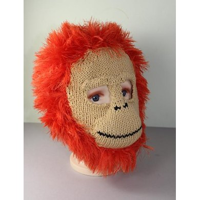 Toddler,Child and Adult Baby Orangutan Mask Balaclava