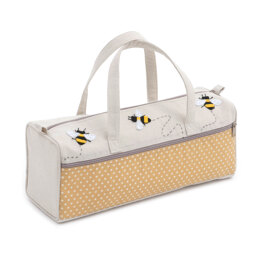 Groves Bumble Bee Appliqué Knitting Bag