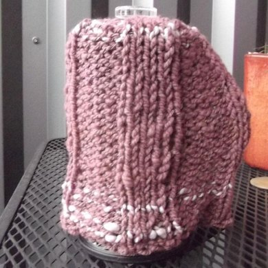 Ribbed French Press Cozy